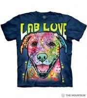 Lab Love T-shirt | Dog T-shirts | The Mountain® | Dean Russo